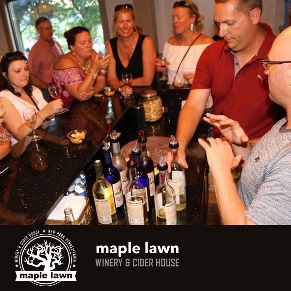 Maple Lawn Winery - Wine Tastings